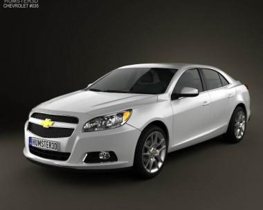 3D model of Chevrolet Malibu ECO 2013