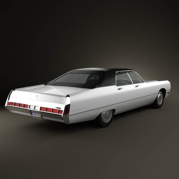 Chrysler Imperial LeBaron 4-door Hardtop 1971 3d model