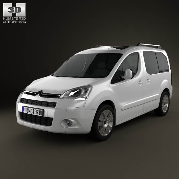 Citroen Berlingo Multispace 2011 3d car model