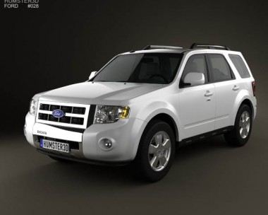 3D model of Ford Escape 2012