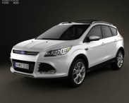 3D model of Ford Escape (Kuga) 2013