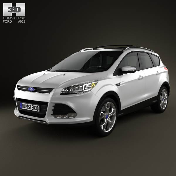 Ford Escape (Kuga) 2013 3d car model