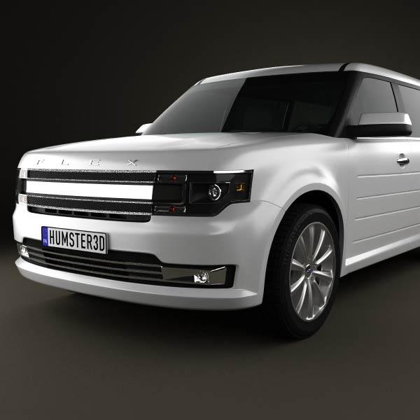 Ford Flex 2013 3d Model | HD Walls | Find Wallpapers