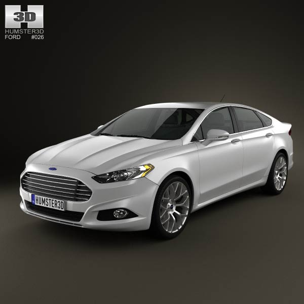 Ford Fusion Mondeo 2013 3d Model Humster3d