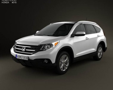 3D model of Honda CR-V 2012