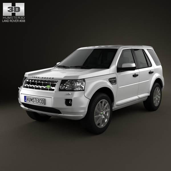 land rover freelander 2 lr2 3d model humster3d. Black Bedroom Furniture Sets. Home Design Ideas