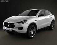 3D model of Maserati Kubang 2013