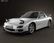 3D model of Mazda RX-7 1992-2002