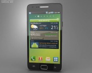 3D model of Samsung Galaxy S2