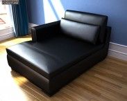 3D model of IKEA SMOGEN Chaise Longue