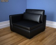 3D model of IKEA SMOGEN One-Seat Sofa