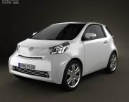 3D model of Toyota IQ 2009