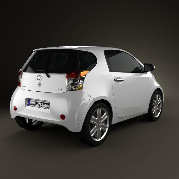 Toyota IQ 2009 3d model