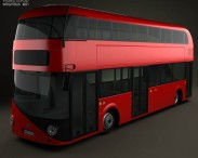 3D model of Wrightbus Borismaster 2012