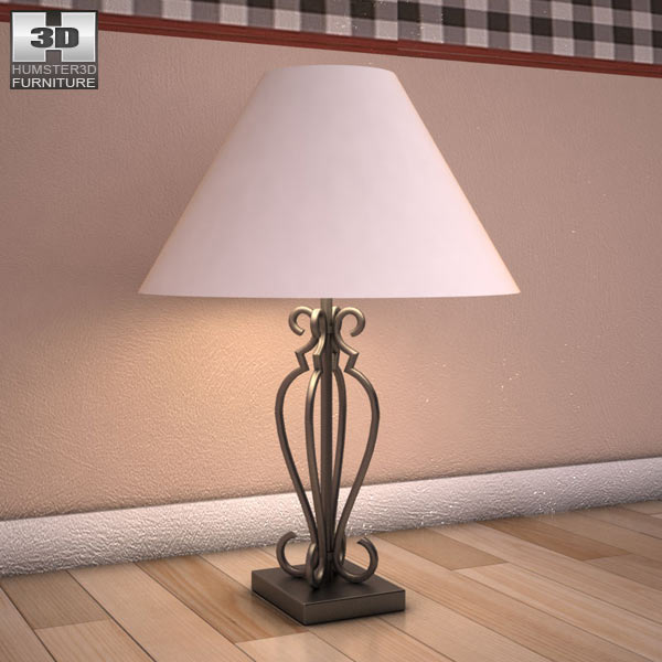 Ashley Huey Vineyard Table Lamp 3d model