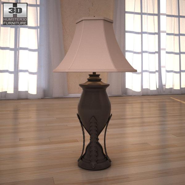 Table Lamp 3d Models Estate Table Lamp 3d Model