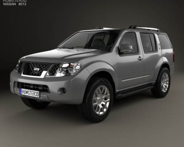 3D model of Nissan Pathfinder 2010