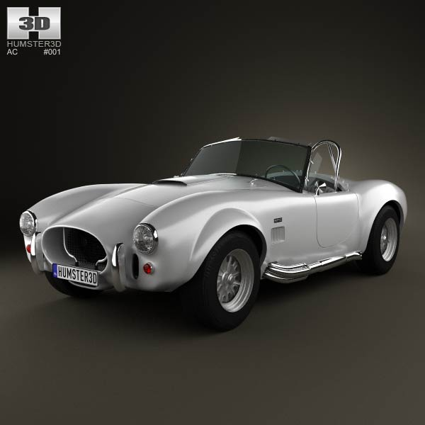 AC Shelby Cobra 427 1965 3d car model