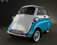 3D model of BMW Isetta 300 1956