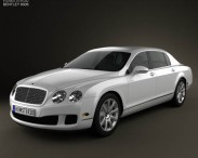 3D model of Bentley Continental Flying Spur 2012