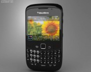 3D model of BlackBerry Curve 8520