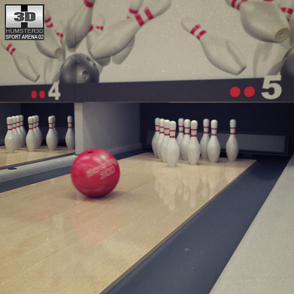 Bowling Club 3d model