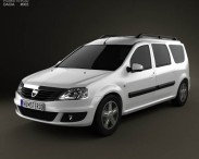 3D model of Dacia Logan MCV 2011
