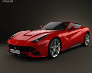 3D model of Ferrari F12 Berlinetta 2012