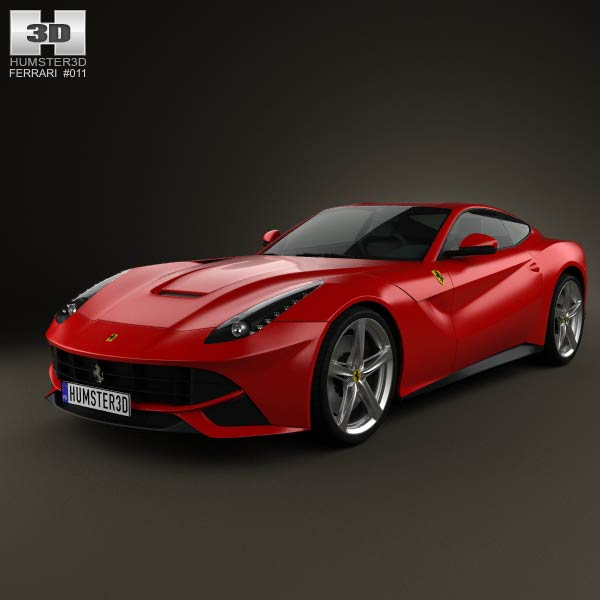 Ferrari F12 Berlinetta 2012 3d car model