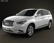 3D model of Infiniti QX60 (JX) 2013