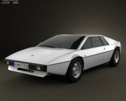 3D model of Lotus Esprit S1 1976