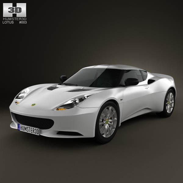 3D model of Lotus Evora S 2011