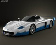 3D model of Maserati MC12
