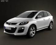 3D model of Mazda CX-7 2012