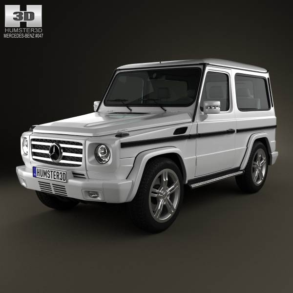 Mercedes-Benz G-Class 3-door 2011 3d car model