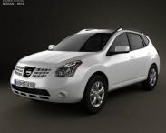 3D model of Nissan Rogue 2011