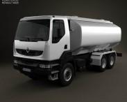3D model of Renault Kerax Tanker 2011