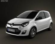 3D model of Renault Twingo 2012