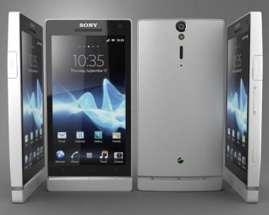 3D model of Sony Xperia S