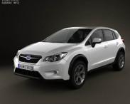 3D model of Subaru XV with HQ Interior 2012