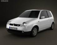 3D model of Volkswagen Lupo 1998