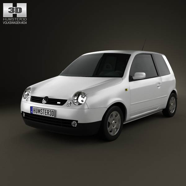Volkswagen Lupo 1998 3d car model