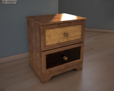 Ashley Alexander Youth Nightstand 3d model