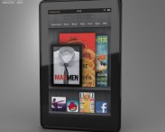 3D model of Amazon Kindle Fire