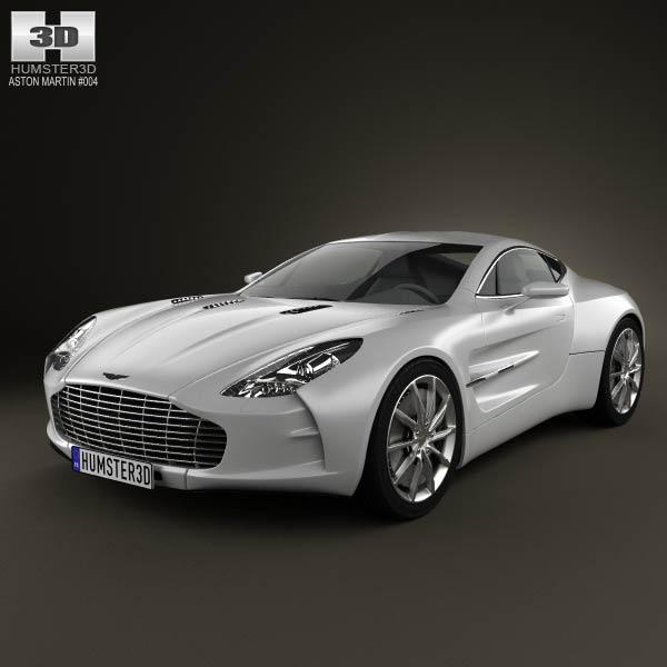 3D Models > Vehicles > Aston Martin > Aston Martin One-77 2010