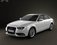 3D model of Audi A4 Sedan 2013