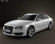 3D model of Audi S8 2013