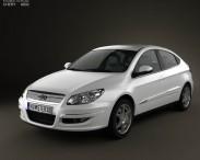 3D model of Chery A3 (J3) Hatchback 5-door 2012
