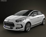 3D model of Citroen DS5 2012