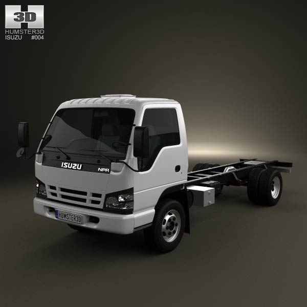 Isuzu NPR Chassis 2011 3d car model
